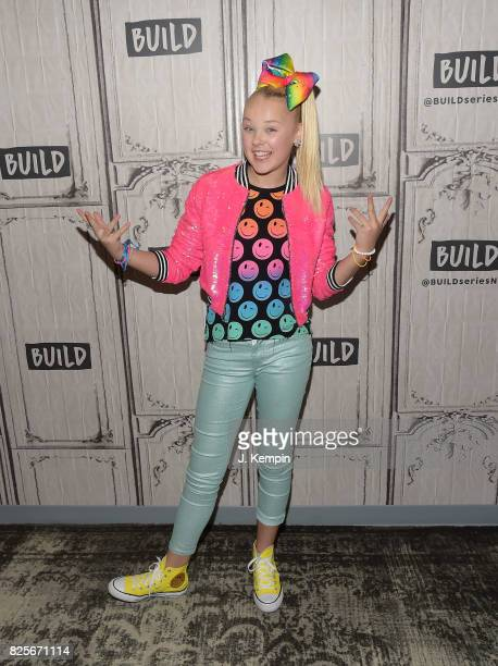 Jojo Siwa visits Build Series at Build Studio on August 2 2017 in New York City