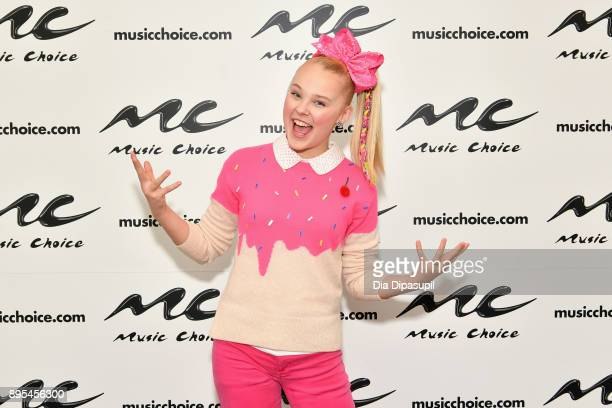 Jojo Siwa visits Music Choice on December 19 2017 in New York City