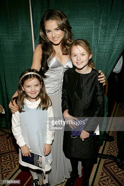 JoJo with Elizabeth Perry and Kate Perry granddaughters of Vice President Dick Cheney