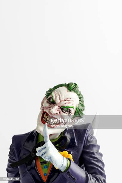 joker is movie character - joker card stock photos and pictures
