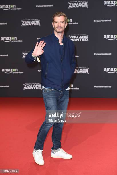 Joko Winterscheidt attends the premiere of the Amazon series 'You are wanted' at CineStar on March 15 2017 in Berlin Germany