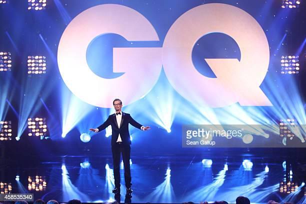 Joko Winterscheidt is seen on stage at the GQ Men Of The Year Award 2014 at Komische Oper on November 6 2014 in Berlin Germany