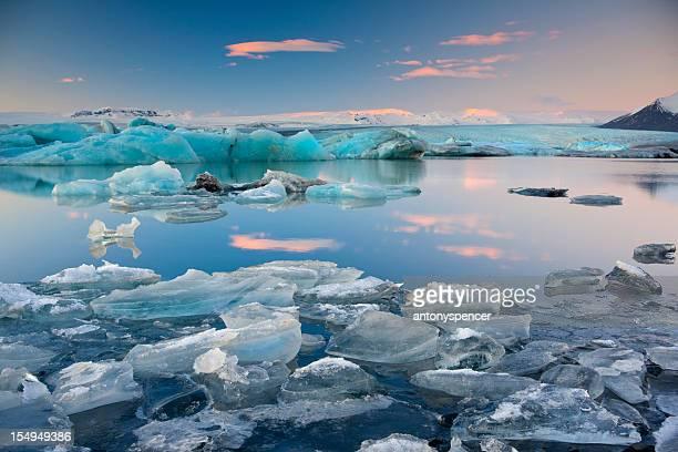 Jokulsalon laguna Glacial