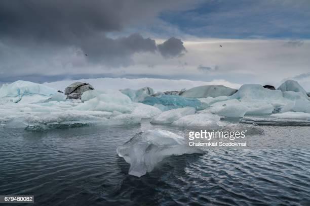 Jokulsalon Glacial lagoon