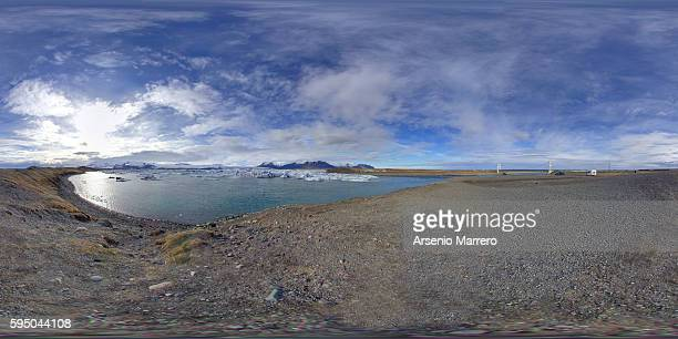 Jokulsarlon Glacier in 360 degrees