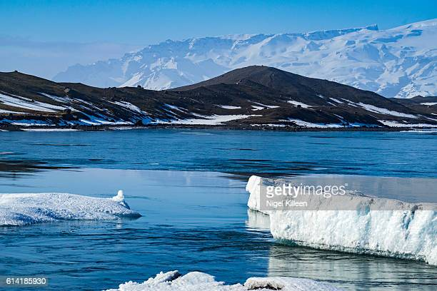 jokulsarlon glacier lagoon, iceland - austurland stock pictures, royalty-free photos & images