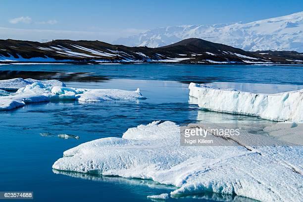 jokulsarlon glacier lagoon, iceland - austurland stock pictures, royalty-free photos & images