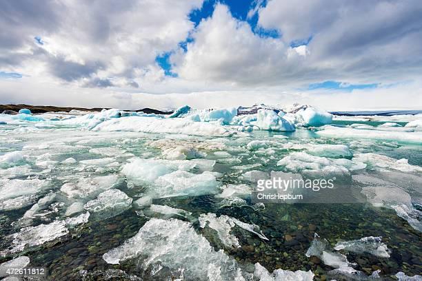 Jokulsarlon Ice Lagoon, South Iceland, Europe