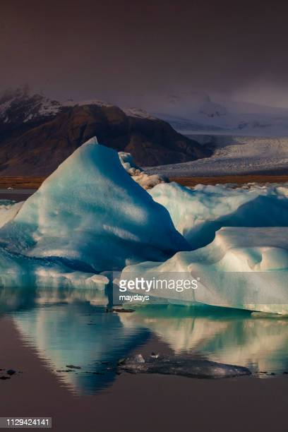 jokulsarlon, iceland - assenza ストックフォトと画像