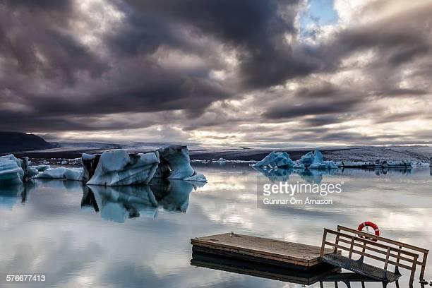 jokulsarlon iceland - gunnar örn árnason stock pictures, royalty-free photos & images