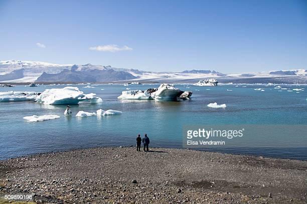 Jokulsarlon is a large glacial lagoon in southeast Iceland on the borders of Vatnajokull National Park Situated at the head of Breioamerkurjokull it...