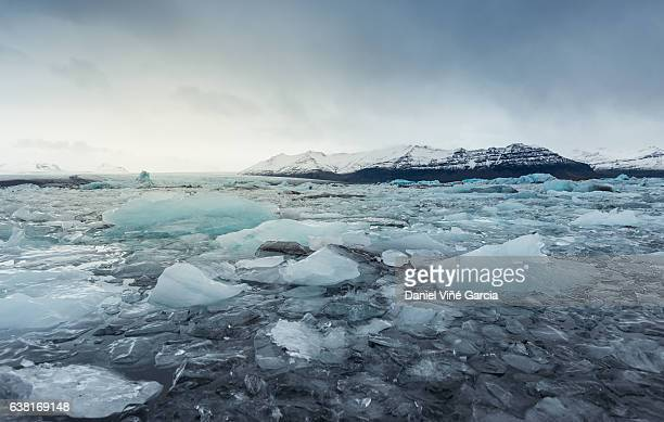 jokulsarlon - breidamerkurjokull glacier stock photos and pictures