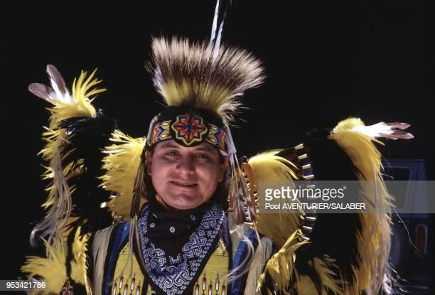 Joël Bointy Indien Kiowa Comanche en juin 1987 dans l'Oklahoma aux ÉtatsUnis