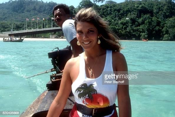Jolanda Egger, am Rande der Dreharbeiten zur ZDF-Reihe