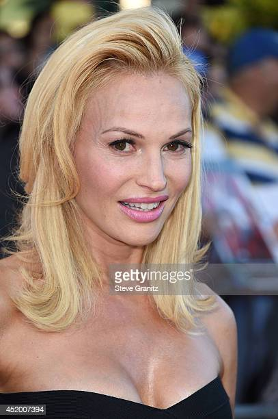 Jolene Blalock arrives at the Sex Tape Los Angeles Premiere at Regency Village Theatre on July 10 2014 in Westwood California