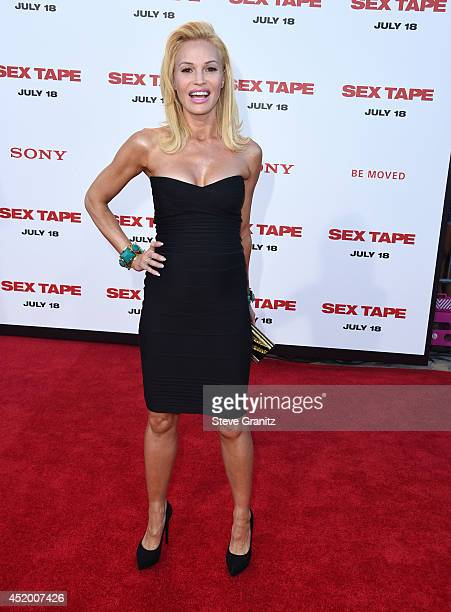 Jolene Blalock arrives at the Sex Tape Los Angeles Premiere at Regency Village Theatre on July 10 2014 in Westwood California
