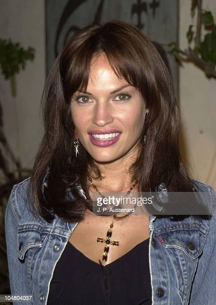 Jolene Blalock during 2002 UPN Network Winter TCA Press Tour at Twin Palms Restaurant in Pasadena California United States