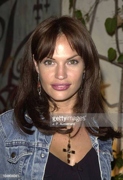 Jolene Blalock during 2002 UPN Network Winter TCA Press Tour at Twin Palms Restaurant in Pasadena, California, United States.