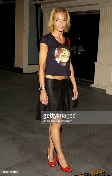 Jolene Blalock during 2003 TCA UPN Summer Party at Renissance Hotel in Hollywood California United States