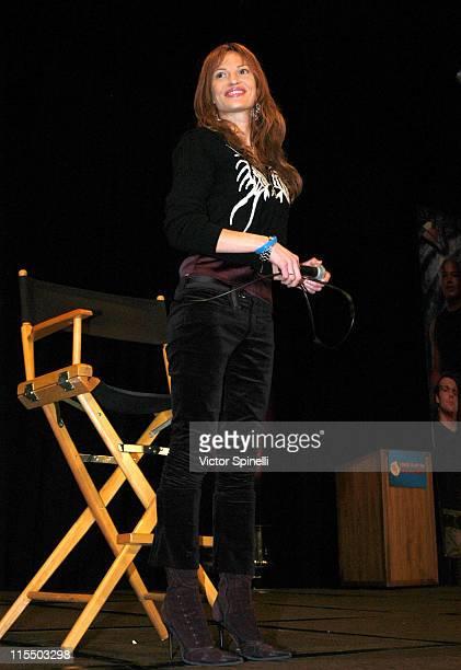 Jolene Blalock during Creation Entertainment's Grand Slam XIII The SciFi Summit Day Three at Pasadena Center in Pasadena California United States