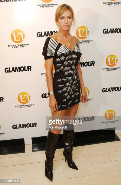 Jolene Blalock during Entertainment Tonight Glamour Magazine Celebrate The 55th Annual Emmy Awards at Mondrian Hotel in West Hollywood California...