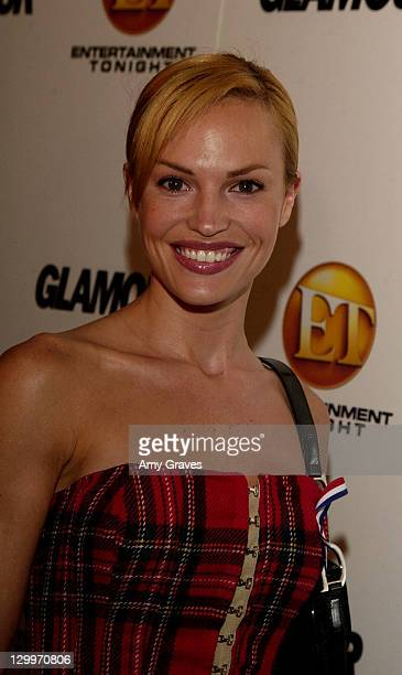 Jolene Blalock during ET/GLAMOUR Emmy Party Celebrating a Night of GLAMOUR on Sunset at Mondrian Hotel in West Hollywood, California, United States.