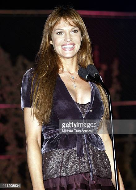 Jolene Blalock during GPhoria 2005 The Mother of All Videogame Award Shows Inside at Los Angeles Center Studios in Los Angeles California United...