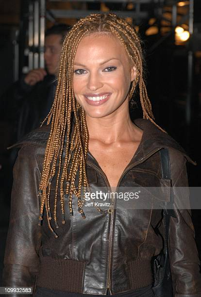 Jolene Blalock during MTV Icon Metallica Show at Universal Studios Stage 12 in Universal City CA United States