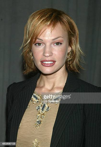 Jolene Blalock of Enterprise during UPN 2002-2003 Prime Time Upfront Party at The Theater at Madison Square Garden in New York City, New York, United...