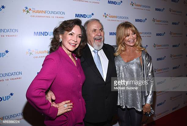 Jolene Brand producer George Schlatter and actress Goldie Hawn attend Goldie Hawn's inaugural Love In For Kids benefiting the Hawn Foundation's...