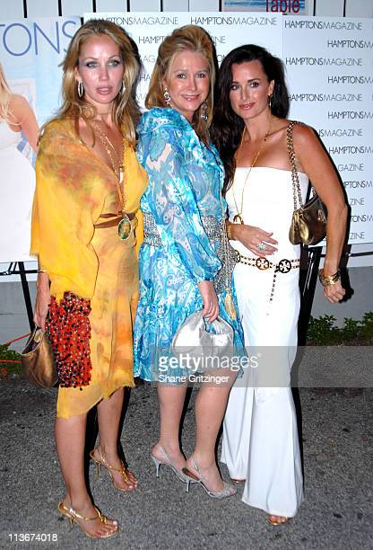 Jolene Kathy Hilton and Kim Richards during Hamptons Magazine July Issue Launch Party And Birthday Celebration For July's Cover Star Beth Ostrosky at...