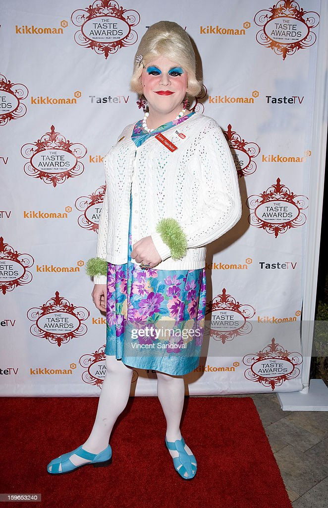Jolene Sugarbaker attends the 4th annual Taste Awards at Vibiana on January 17, 2013 in Los Angeles, California.