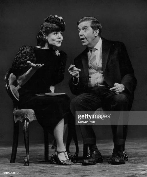 Jolene Terry portrays Betty Chumley the socialite wife of a pyschiatrist and Bob Coulson is Elwood P Dowd who has problems trying to convince others...