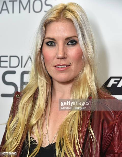 Jolene Van Vugt attends the Premiere Of Red Bull Media House's On Any Sunday The Next Chapter at Dolby Theatre on October 22 2014 in Hollywood...