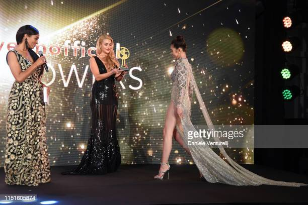 Jolie Nguyen attends the Inaugural 'World Bloggers Awards' during the 72nd annual Cannes Film Festival on May 24 2019 in Cannes France The 'World...