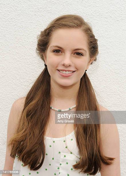 Jolie Vanier attends the Shamrock and Roll Concert for St. Jude Children's Hospital on March 17, 2012 in Los Angeles, California.