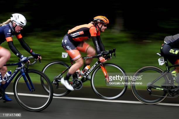 Jolien Dhoore of Belgium and Boels Dolmans Cycling Team / during the 32nd Women WT Emakumeen. Bira 2019, Stage 3 a 97km stage from Murgia to Santa...