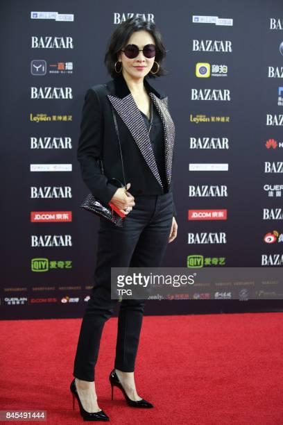 Jolin Tsai attends 2017 bazaar charity night on 09th September 2017 in Beijing China
