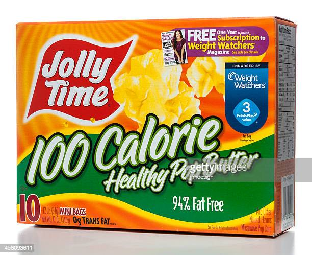 Jolly Time 100 Calorie Healthy Pop Butter box