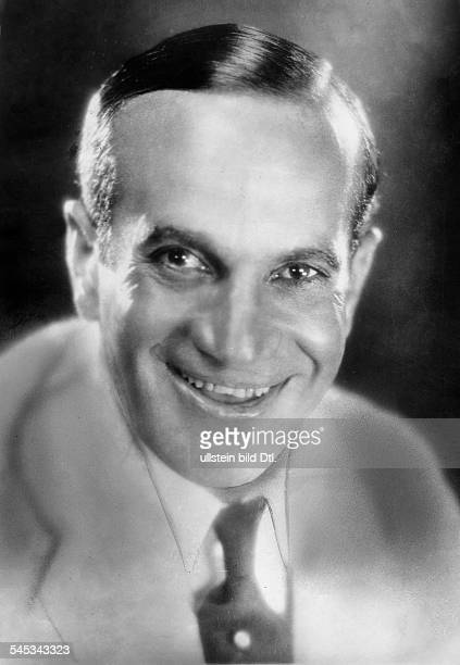 Jolson Al *26051886Saenger Entertainer USA Portrait 1928 veroeff BM