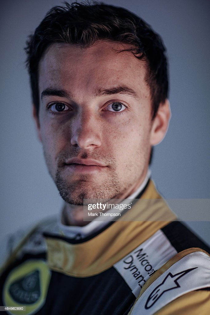 Jolyon Palmer of Great Britain and Lotus F1 poses for a portrait during day three of Formula One Winter Testing at Circuit de Catalunya on February 21, 2015 in Montmelo, Spain.