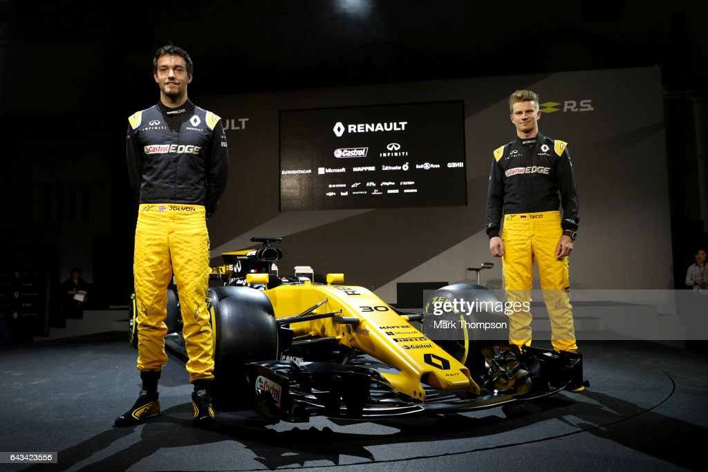 Renault Sport Formula One Team Launch 2017 Car