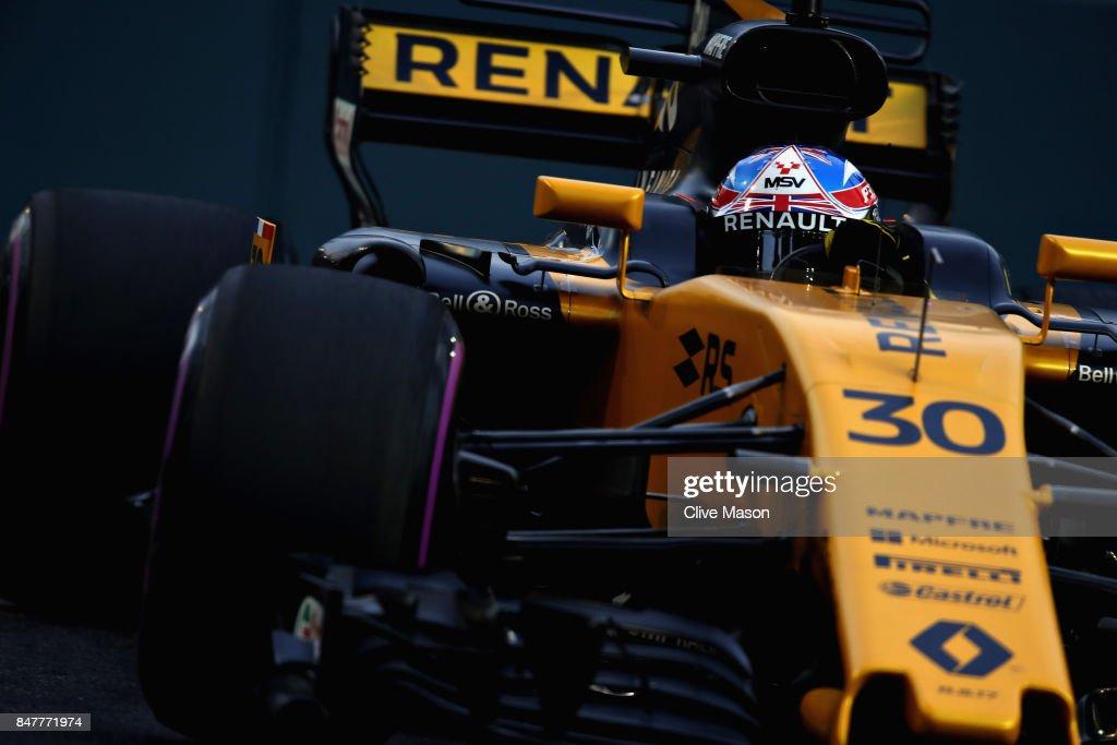 F1 Grand Prix of Singapore - Qualifying : News Photo