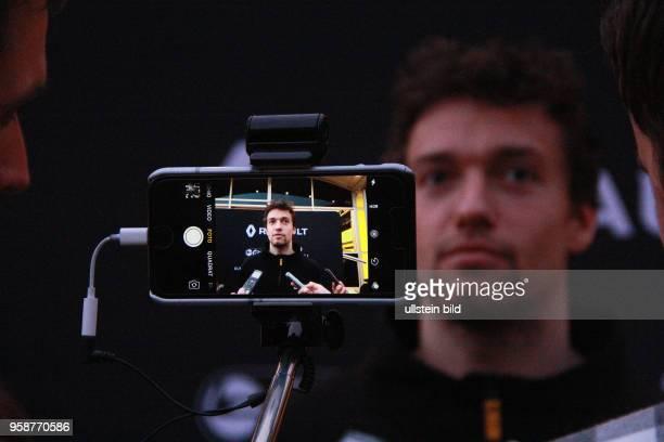 Jolyon Palmer, Renault F1 Team, formula 1 GP, Test Barcelona, Spanien,