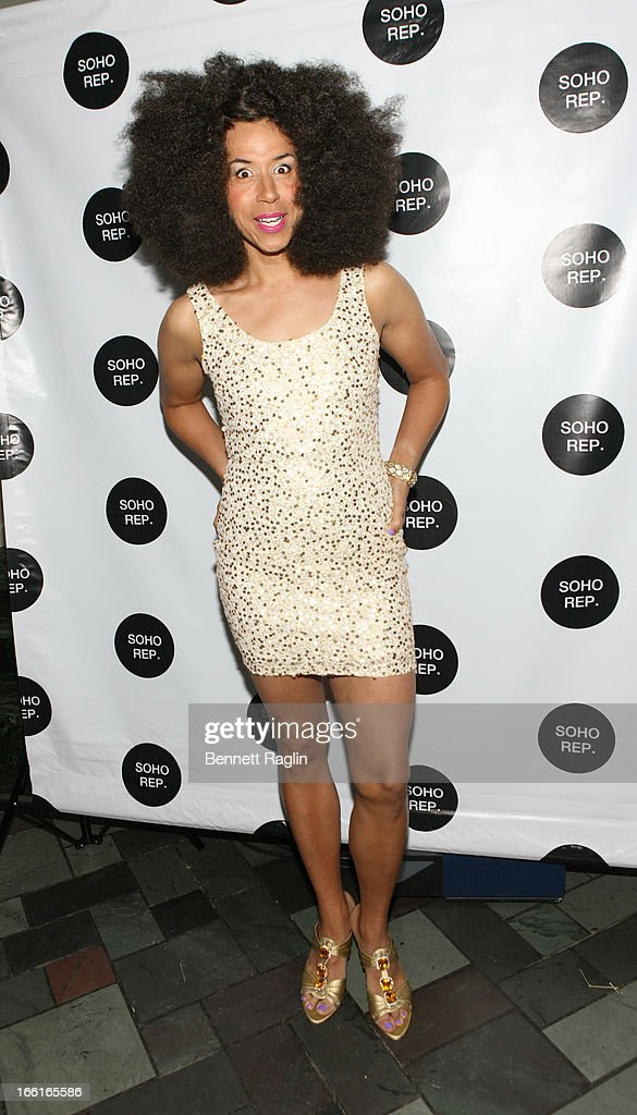 Jomama Jones attends the 36th Annual Soho Rep Spring Gala at Battery Garden Restaurant on April 8, 2013 in New York City.