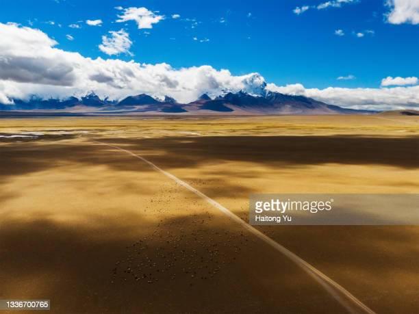 jomolhari peak on border of china and bhutan - bhutan royalty stock pictures, royalty-free photos & images