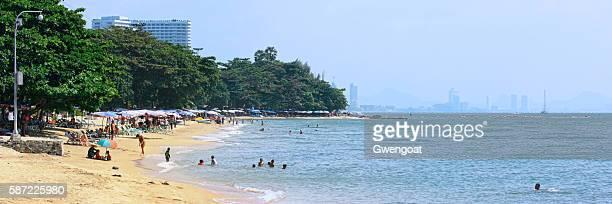 Jomtien Beach in Thailand