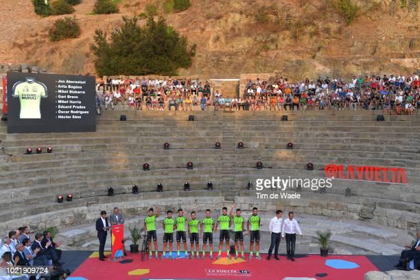 Jon Aberasturi of Spain / Aritz Bagues Kalparsoro of Spain / Mikel Bizkarra Etxegibel of Spain / Garikoitz Bravo Oiarbide of Spain / Mikel Iturria...