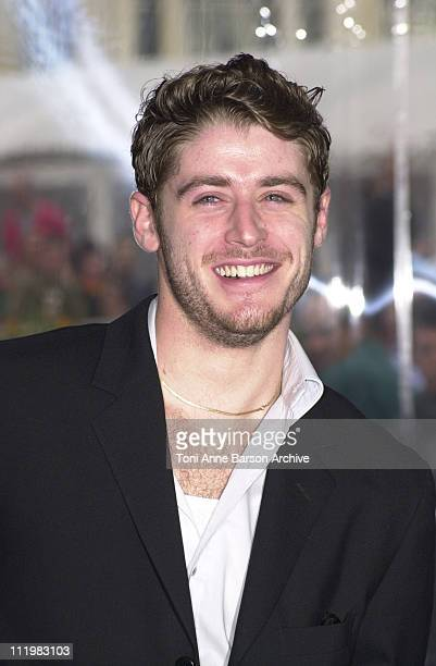 Jon Abrahams during Deauville 2001 Scenes of the Crime Photocall at Centre International Deauville CID in Deauville France
