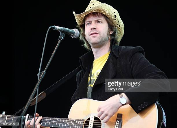Jon Allen performs at Day 2 of The Cornbury Music Festival at Cornbury Estate on July 4 2010 in Oxford England